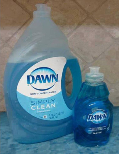 dawn liquid soad